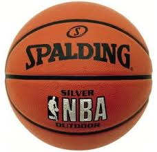 <b>Мяч</b> баскетбольный №3 <b>SPALDING NBA SILVER</b> Outdoor RBR BB