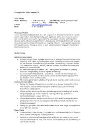 why this is an excellent resume business insider examples of how to write a professional profile how to write a profile profile writing a resume career