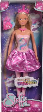 Игровой набор с <b>куклой Штеффи в розовом</b> платье 29 см Simba