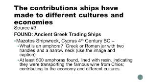 informational essay source transporting treasure the source 3 found ancient greek trading ships 61607 mazotos shipwreck 4 th
