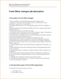 front desk manager job description invoice template desk medical receptionist resume sample hotel front office manager