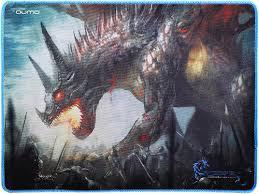 Купить <b>коврик</b> для мыши <b>Qumo</b> Dragon War <b>Daemon</b> Hunt (20969 ...