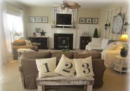living room desk brown