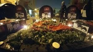 Image result for تشییع نمادین 3 شهید بحرینی به دنبال ممانعت آلخلیفه از برگزاری مراسم ترحیم