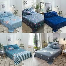<b>Flamingo Bird</b> Print Bed Sheet King <b>Queen</b> Size Home Bedroom ...