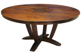 large size wooden dining room beautiful round dining table natral finished table exposed wood grains