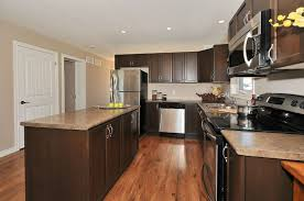 Walnut Floor Kitchen The Haliburton Barzotti Cabinets Maple Swedish Walnut