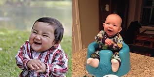 Suddenly realized why my Son's picture (right) looked familiar ... via Relatably.com