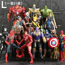 Aliexpress.com : Buy NEW Hot SaleMarvel <b>21Pcs</b>/<b>Set</b> Avengers ...