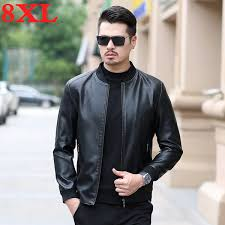 2019 <b>2019 New 8XL</b> 7XL Plus Size Autumn And Winter Men Leather ...
