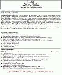 Profile On A Resume  skills and abilities on resume examples skill