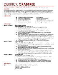 free resume examples  amp  samples for all jobseekers   resumeseed com    business resume examples business analyst resume example contemporary resumes on microsoft word