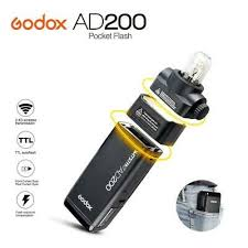 In Stock <b>Godox AD200</b> Pocket Flash <b>2.4G TTL</b> HSS Double Head ...