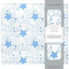 Swaddledesigns Infant <b>Boys Muslin Swaddle Blanket</b>, Starshine ...