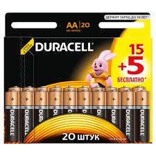 <b>Батарейка DURACELL LR06</b> (<b>AA</b>) MN1500 (15+5 шт.) бл купить ...