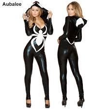 2018 <b>Spiderman</b> Jumpsuit New Black Halloween Costume For ...