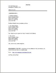 resume reference example example page download download sample reference for resume