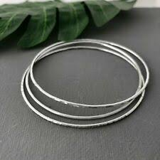 <b>925 Solid</b> Silver Bangle for sale | eBay