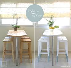 small square kitchen table: i like the table top for kitchen idea ikea furniture is often regarded as disposable but heres a great example of breathing life into old furniture