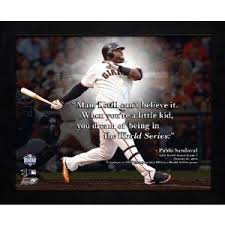 Amazon.com - Pablo Sandoval San Francisco Giants World Series Pro ... via Relatably.com