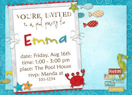 birthday planning and an invitation template emma s bday invites2