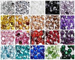 <b>1000pcs</b> 2mm-5mm or <b>Mixed Size</b> Resin Rhinestones 20 colours ...