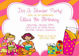 sample refusal letter to a birthday party invitation slumber party picture cliparts co