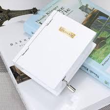 Παραγγελία απο Bangood 15 Tone DIY Hand Cranked Books Type ...