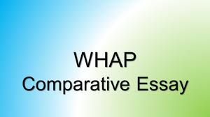 whap comparative essay part c suggested planning and writing 1 whap comparative essay