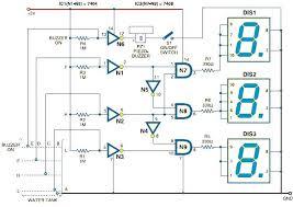 display wiring diagram display decoder bcd to segment display segment water level indicator schematic jpg circuit diagram of digital water level car wiring schematic diagram