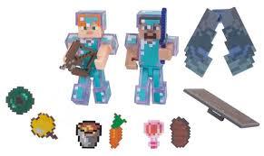 <b>Игровой набор</b> Jazwares <b>Minecraft</b> Стив и Алекс с <b>набором</b> для ...