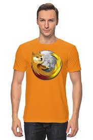 Футболка <b>классическая DOGE</b> FIREFOX #1641522 от Jimmy Flash ...