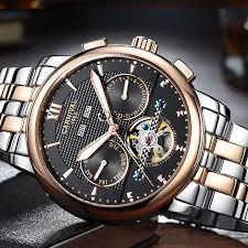 Online Shop <b>Switzerland Carnival Men's Watches</b> Luxury Brand ...