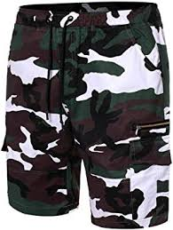 Staron <b>Men's</b> Pants Elastic Waistband <b>Slim</b> Fit Sport Camouflage ...