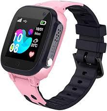 Kids <b>Smart Watch</b> Phone LBS Tracker Voice Chat SOS <b>Anti</b>-<b>Lost</b>