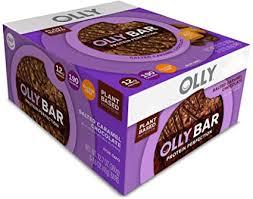 OLLY Plant-Based <b>Protein Bar</b>, <b>Salted Caramel</b> Chocolate, 12 g ...