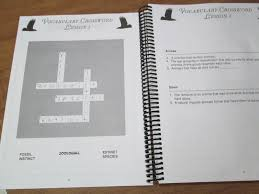apologia flying creatures of the fifth day review as we walk as a review the notebook had a crossword puzzle using some of the terms we about throughout the chapter there were also some lapbooking style mini