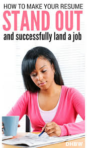 best images about work from home tips advice how to make your resume stand out and land the job