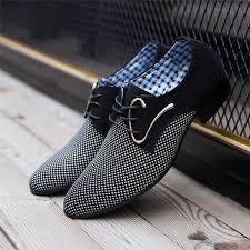 <b>Men's</b> Fashion <b>Casual</b> Business <b>Pointed</b> Leather Shoes Man <b>Spring</b> ...