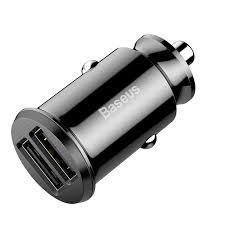 <b>Baseus Grain</b> Mini <b>Dual</b>-USB Smart Car Charger 3.1A   Shopee ...