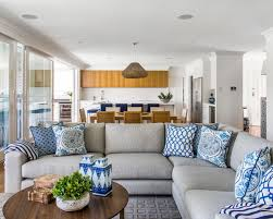 decorating a blue couch home design photos blue couch living room ideas