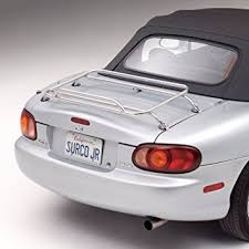 surco dr1000 stainless steel removable deck rack for bmw z3 bmw z3 1996 front angle aa