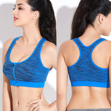 maijion 2pcs women push up fitness yoga bras xxxl size shakeproof stretch gym sports underwear plus front zipper bra tops