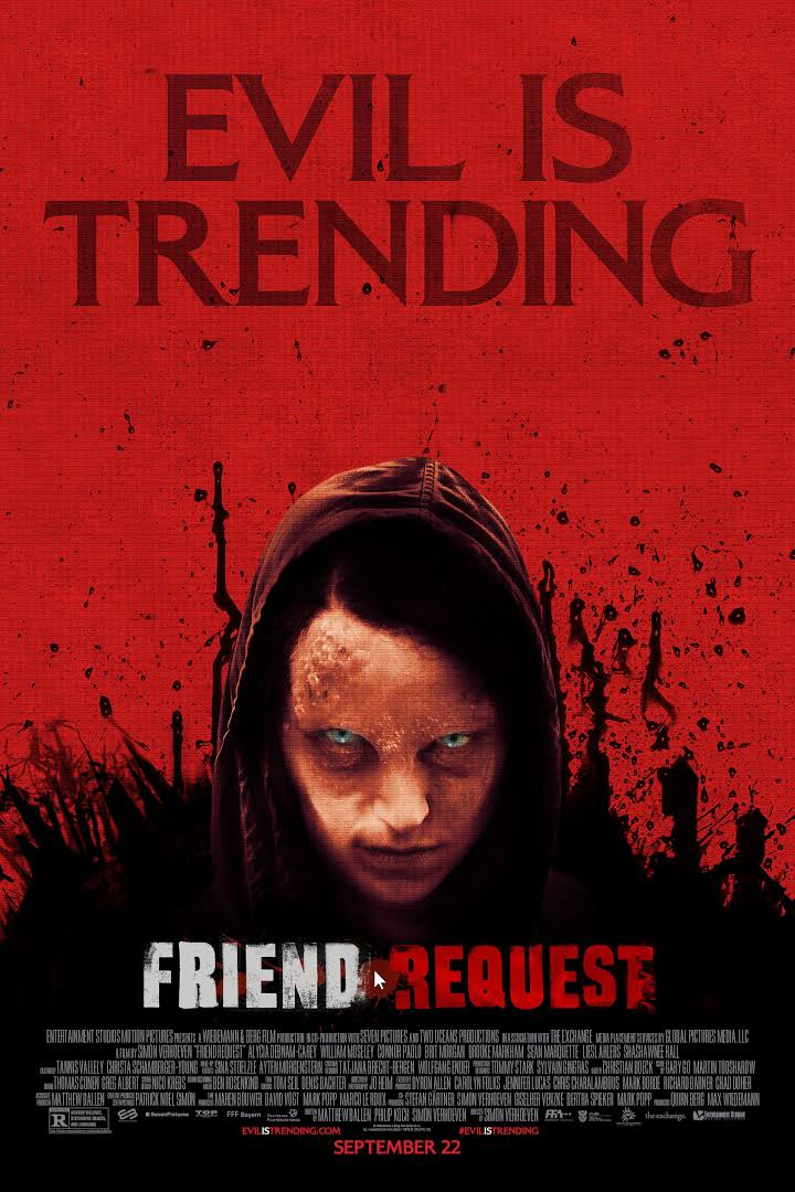 Friend Request (2016) Dual Audio Hindi 480p | 720p