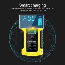 NEW Intelligent <b>12V 6A</b> Car Battery Charger Dropshipping <b>LCD</b> ...