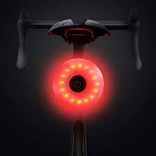 SENSOUSONG Bicycle Lights, <b>USB Rechargeable Bicycle Rear</b> ...