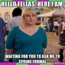 Hello fellas. here i am, waiting for you to ask me to spring ... via Relatably.com