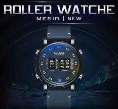MEGIR <b>New Creative</b> Roller Digital Display <b>Watches</b> Men Military ...