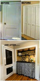 Kitchen Message Center Re Invented Style Re Modeling Laundry Closet Kitchen Door