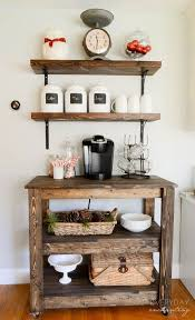11 genius ways to create your own coffee bar at home built coffee bar makeover